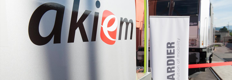 Akiem Signs Framework Agreement for 52 TRAXX Locomotives with Bombardier