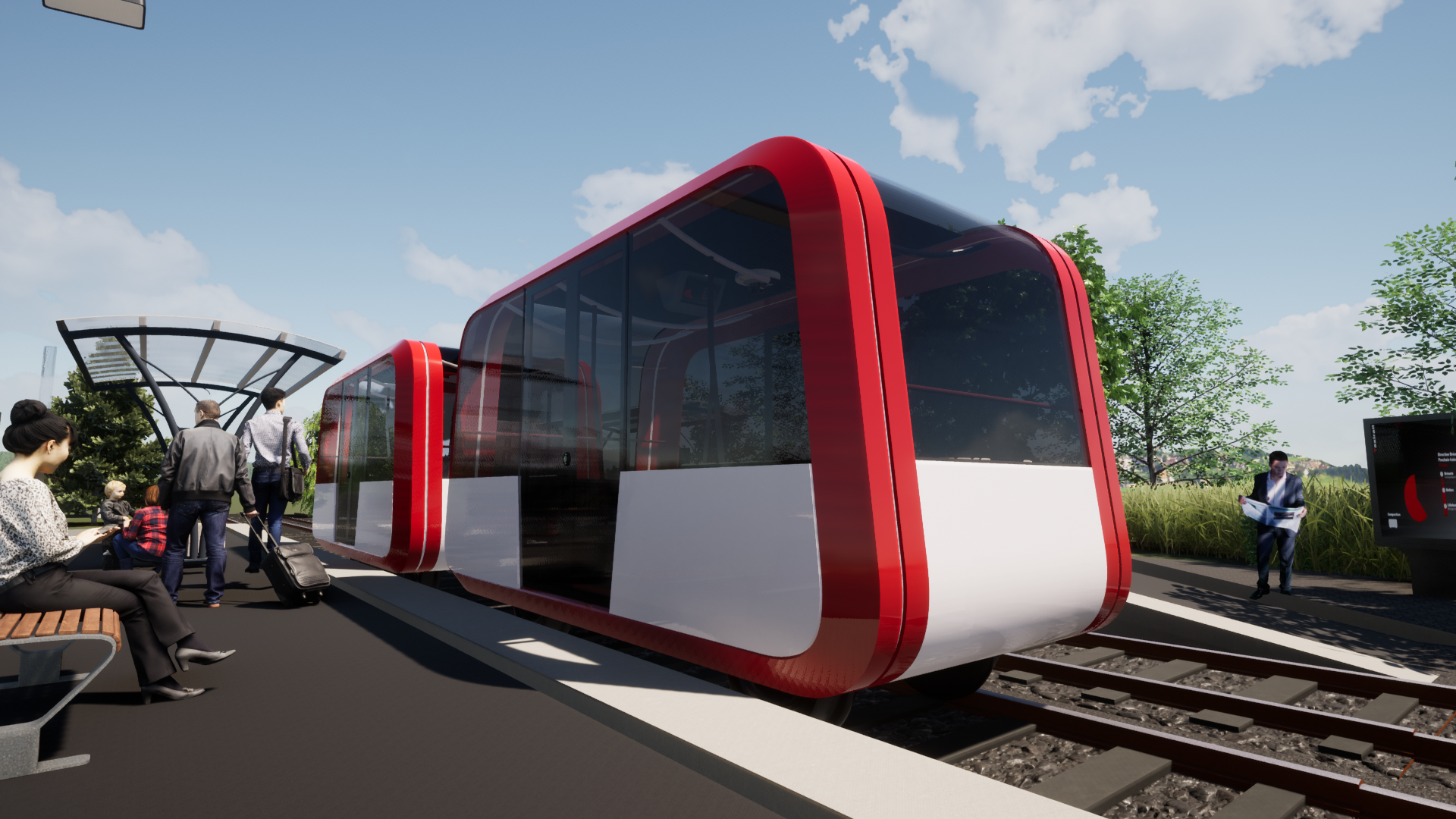 Akiem and Taxirail sign a letter of intent for the development of autonomous rail shuttle modules